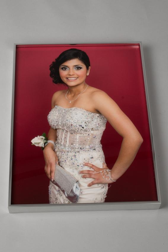 Aluminium framed HD acrylic